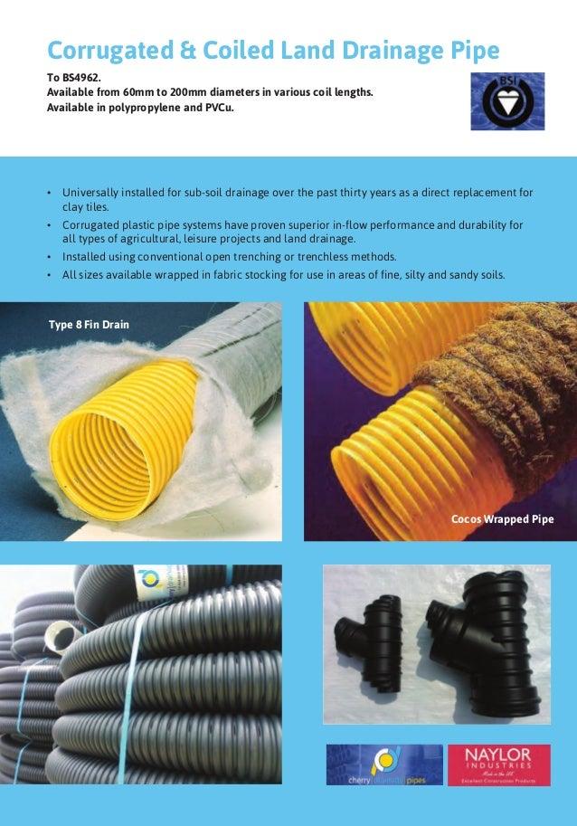Subsoil Drainage Fabric : Plastech brochure