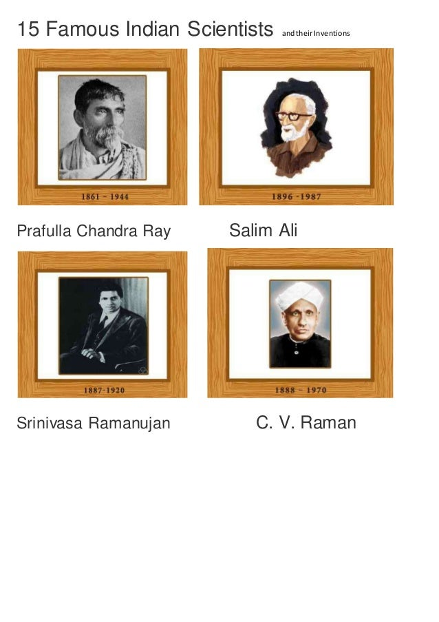 15 Famous Indian Scientists And Their Inventions