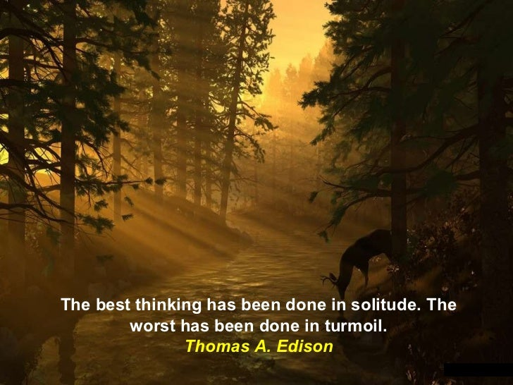 Quotes On Solitude Interesting 15 Favorite Quotes On Solitude