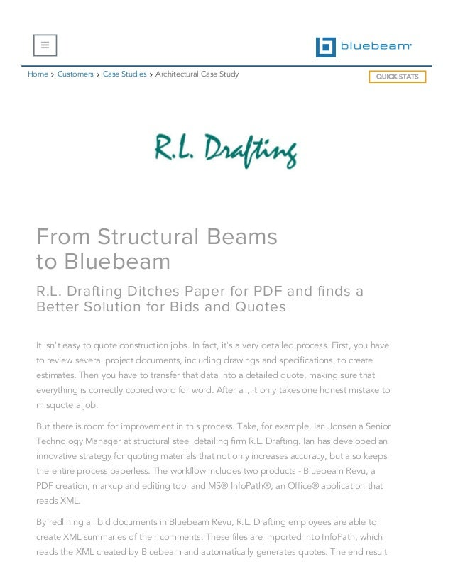Bluebeam Case Study _ R L