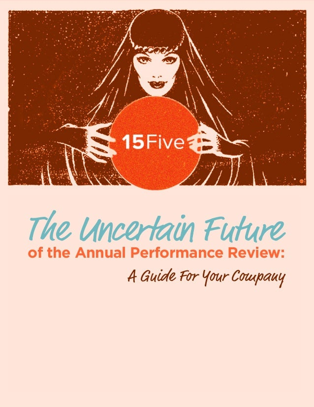 15Five's Annual Performance Review Guide