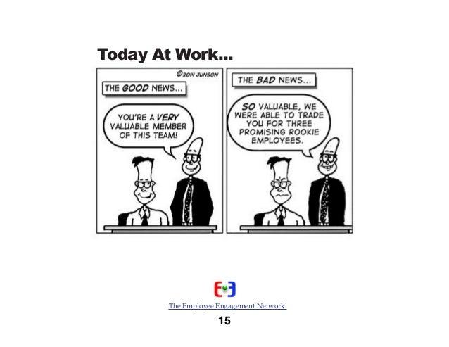 15 Excellent Employee Engagement Cartoons