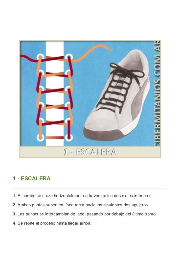 15 formas creativas de atarse los cordones