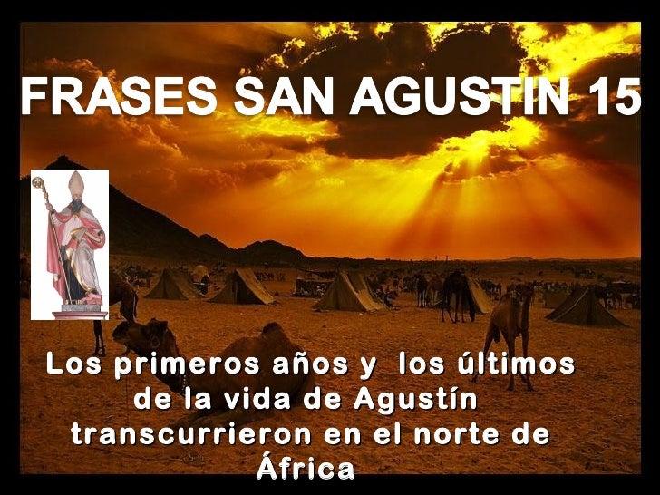 Frases De San Agustin 16