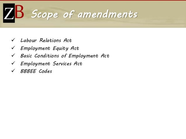 people  labour law amendments