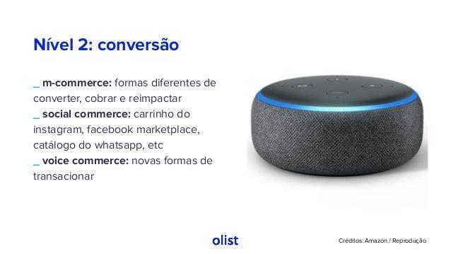 Nível 2: conversão _ m-commerce: formas diferentes de converter, cobrar e reimpactar _ social commerce: carrinho do instag...
