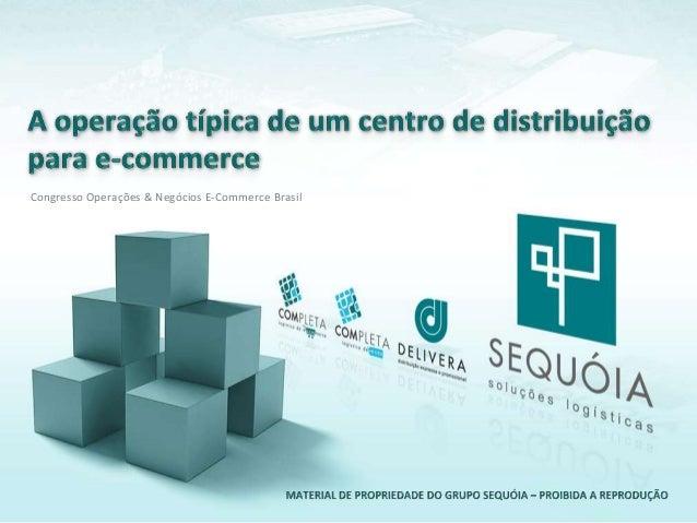 Congresso Operações & Negócios E-Commerce Brasil