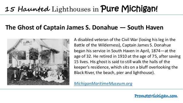 15 Haunted Lighthouses to Explore in Pure Michigan Slide 3