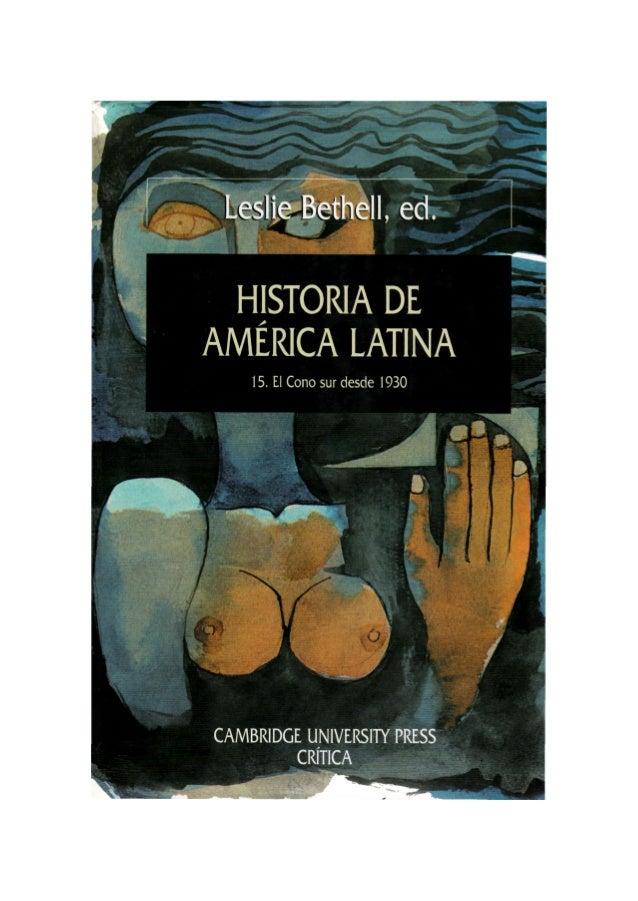 HISTORIA DE AMÉRICA LATINA  SERIE MAYOR Directores:  JOSEP FONTANA y GONZALO PONTÓN