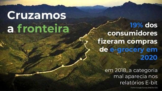 The Future of E-Commerce - Enterprise   O futuro do e-grocery e seu impacto no varejo brasileiro Slide 3