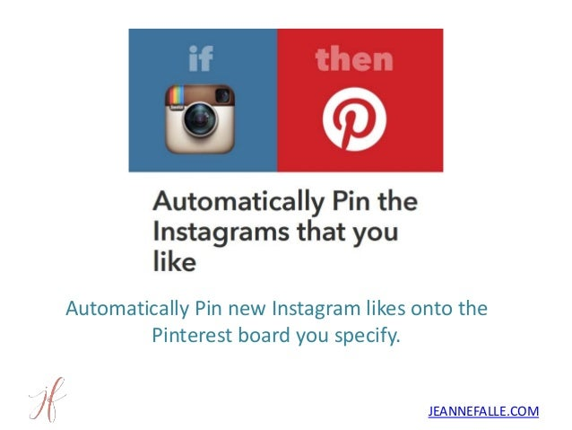 15 ifttt recipes for automated instagram marketing