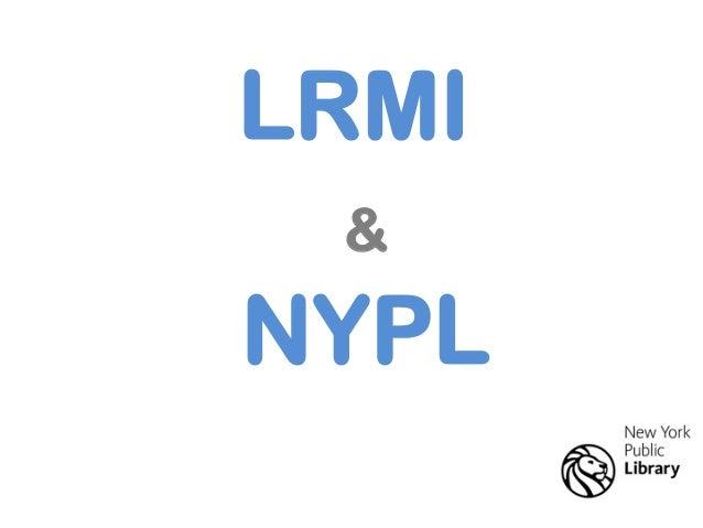 LRMI & NYPL