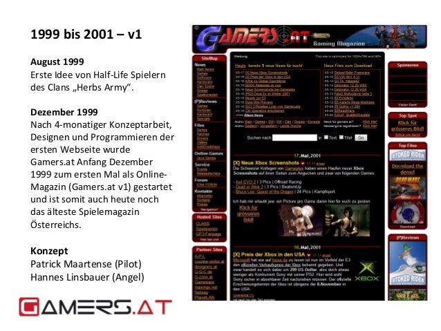 """1999 bis 2001 – v1  August 1999  Erste Idee von Half-Life Spielern  des Clans """"Herbs Army"""".  Dezember 1999  Nach 4-monatig..."""