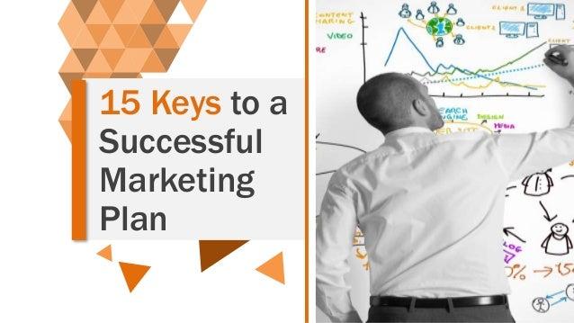15 Keys to a Successful Marketing Plan