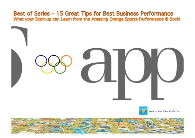 Best of Series – 15 Great Tips for Best Business Performance  