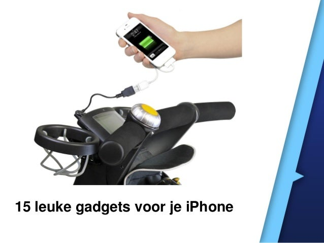 15 leuke gadgets voor je iPhone