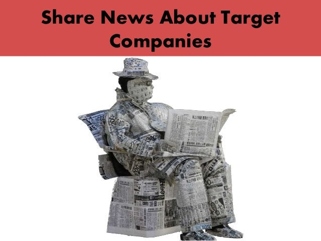 Share News About Target Companies