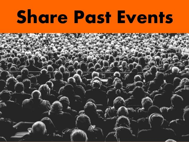 Share Past Events