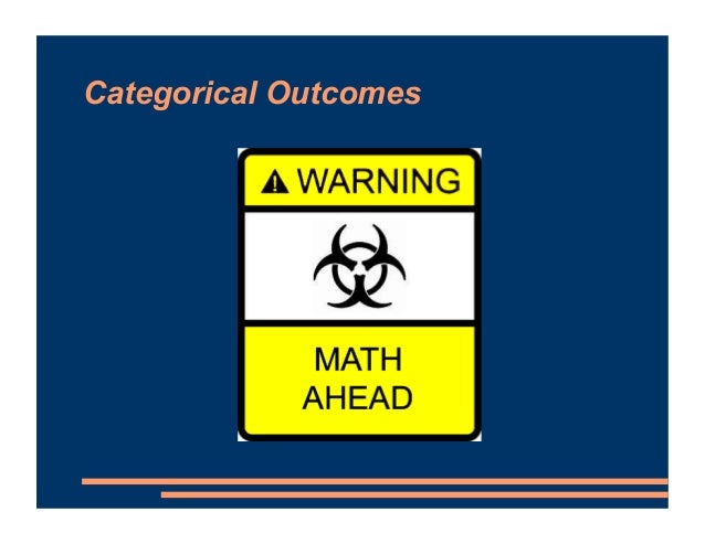 Categorical Outcomes