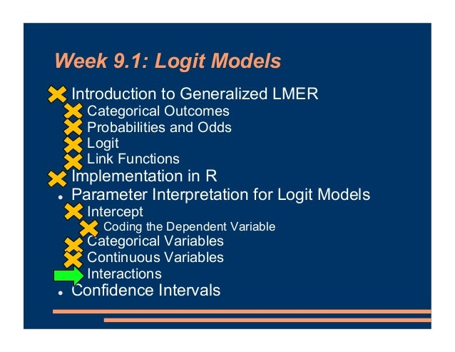 Interpretation: Interactions • Study time has a + effect on recall • Elaborative strategy has a + effect on recall • And, ...