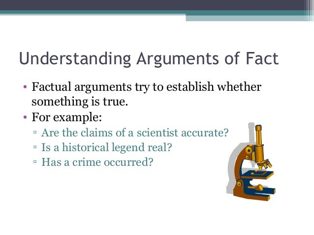 English 104 Arguments Of Fact
