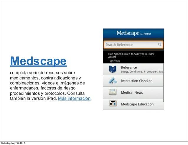 15 mejores aplicaciones medicas android Slide 2