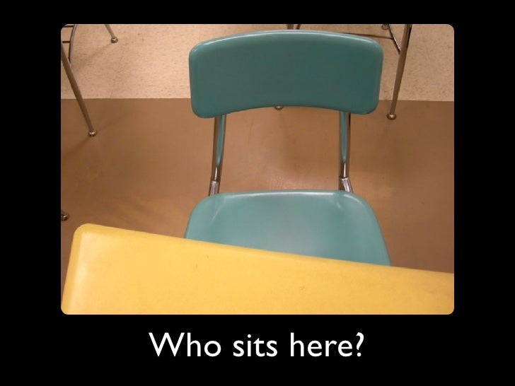 Who sits here?