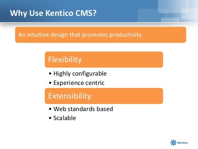 Kentico CMS 7 – 15 Minute Overview Slide 3