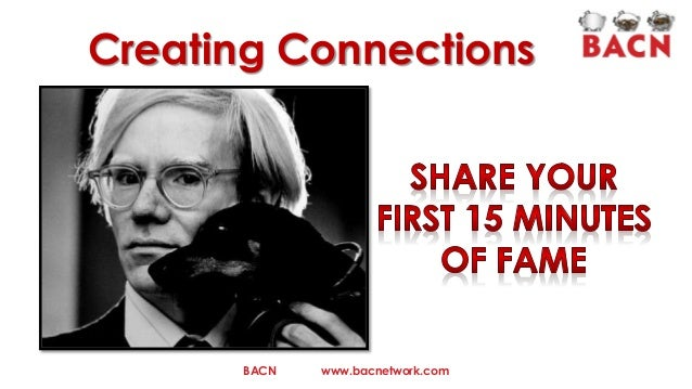Creating Connections  BACN  www.bacnetwork.com