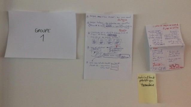 JOUR5:TESTER Le chiffre magique : 85% des problèmes sont détectés après 5 tests utilisateurs seulement. Setup: une salle d...