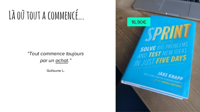 """Làoùtoutacommencé... """"Tout commence toujours par un achat."""" Guillaume L. 16,90€"""