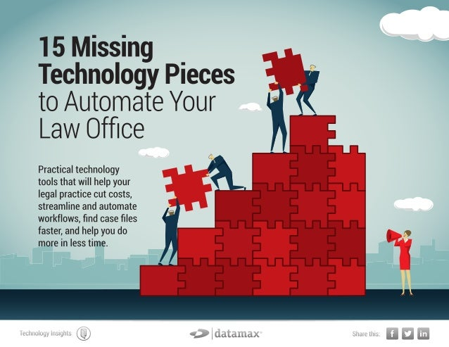 Missing Pieces to Automate a Law Office [portfolio]