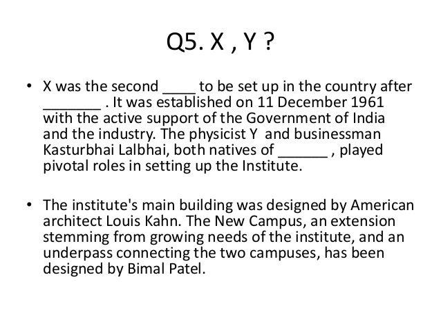 Q5. X , Y ? • X was the second ____ to be set up in the country after _______ . It was established on 11 December 1961 wit...