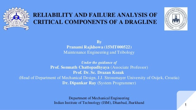 reliability analysis in ship's critical machinery Made more reliable first improving the reliability of ship machinery is the goal of  this thesis, and this  his critical feedback helped me to constantly improve my  master  433 summary steering gear reliability improvement.