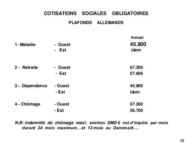 15 octobre 2012 - Plafond indemnites chomage ...