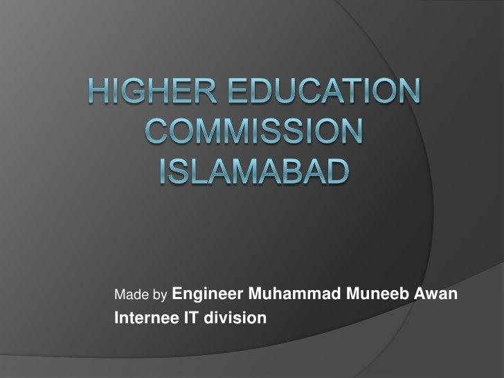 Made by Engineer Muhammad Muneeb AwanInternee IT division