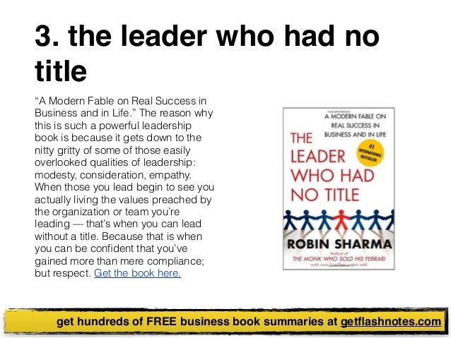 Best business book summaries