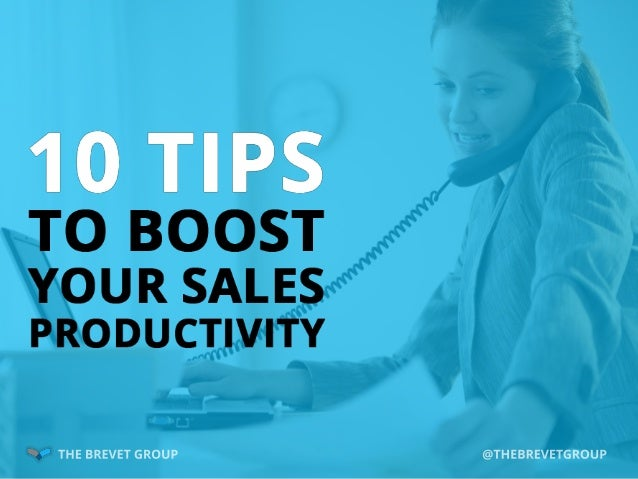 Successful salespeople are constantly looking to optimize their productivity and improve their selling efforts. Here are 1...