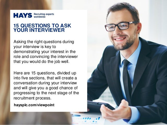 Asking the right questions during your interview is key to demonstrating your interest in the role and convincing the inte...