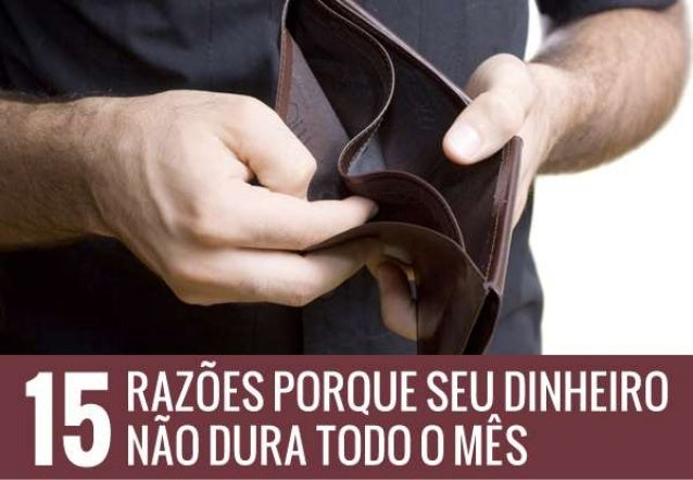 Uma dificuldade de grande parte dos brasileiros é fazer com que o dinheiro sobre no final do mês. É comum as pessoas usare...