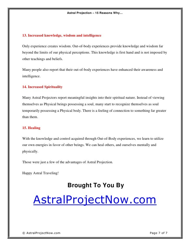 How to Perform Astral Projection: 10 Steps (with Pictures)