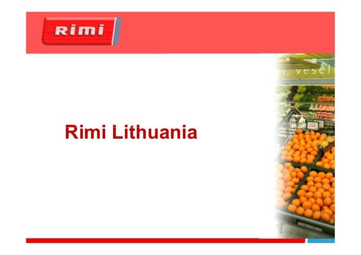 Rimi Lithuania