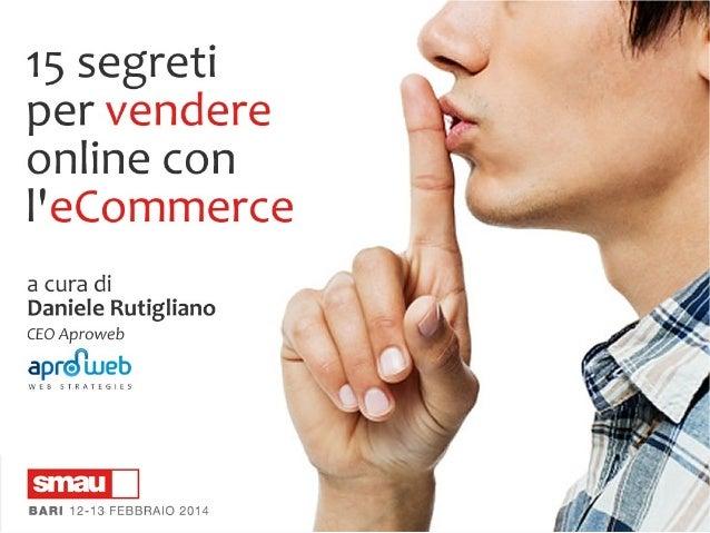 """2 di 33  L'AUTORE  Daniele Rutigliano Laureato in """"Informatica e Comunicazione Digitale"""" presso l'Università degli Studi d..."""