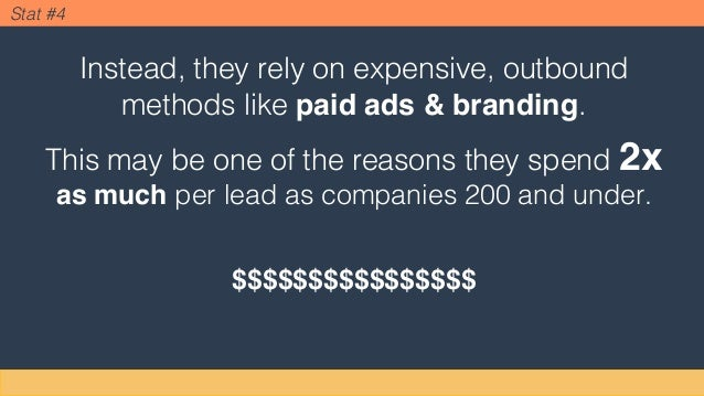 Instead, they rely on expensive, outbound methods like paid ads & branding. This may be one of the reasons they spend 2x a...