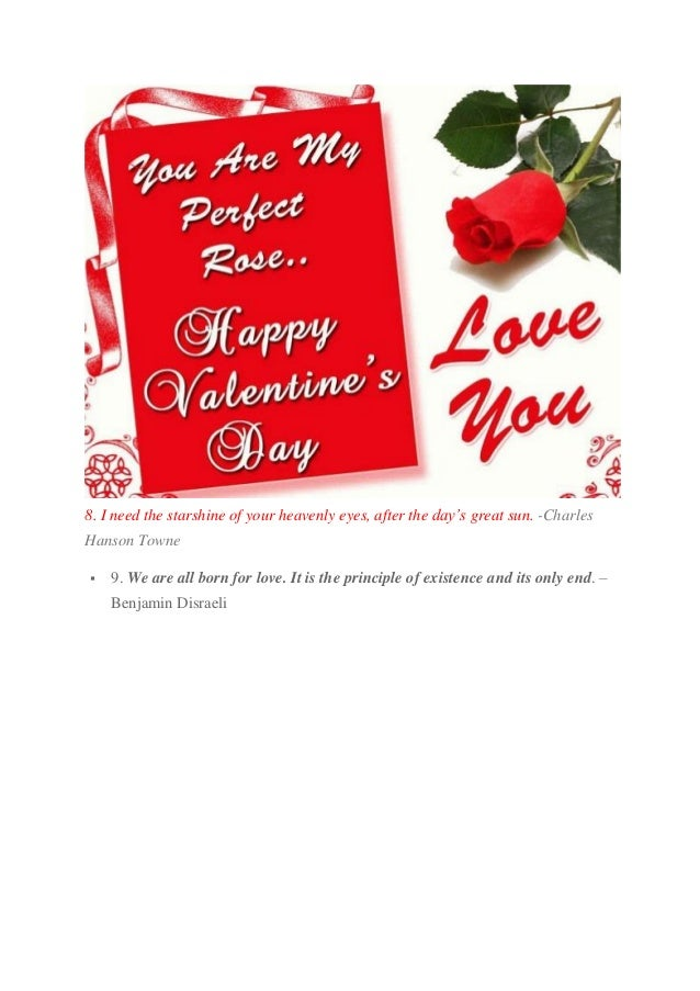 thomas robert dewar 3 - Sweet Valentines Day Quotes