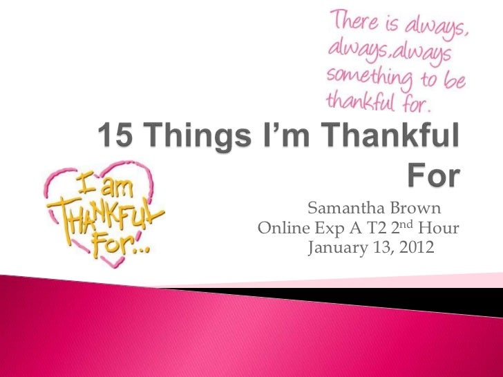 Samantha BrownOnline Exp A T2 2nd Hour      January 13, 2012