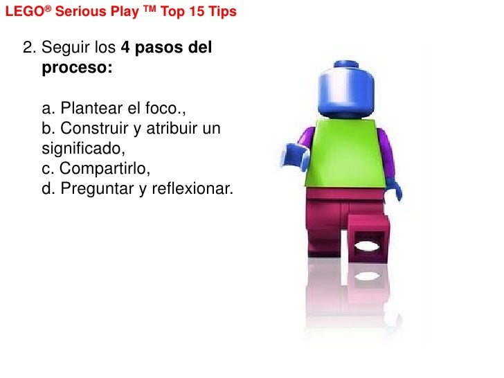 15 tips about lego serious play methodology Slide 2