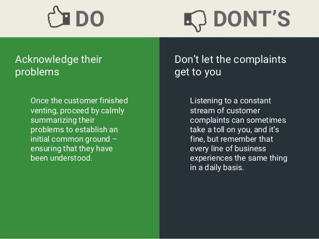 15 Tips on How to Handle Customer Complaints Slide 3