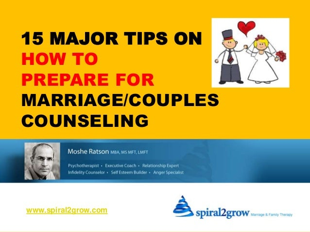 15 tips on how to prepare for couples marriage counseling