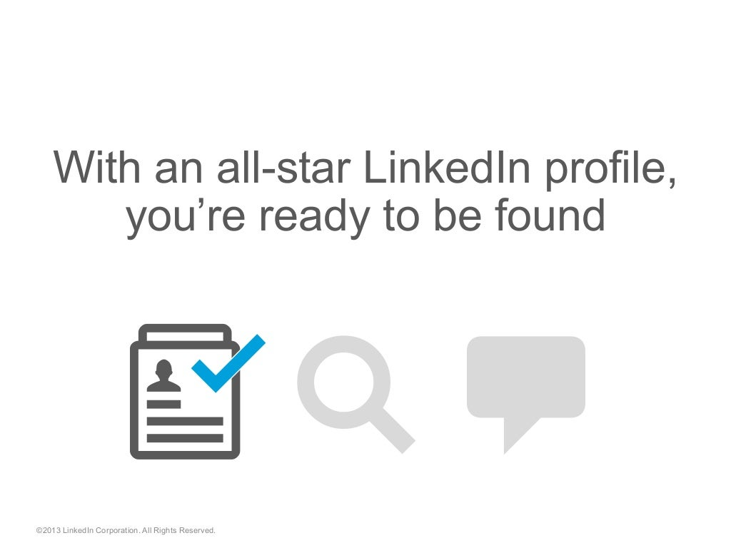 With An All Star Linkedin Profile